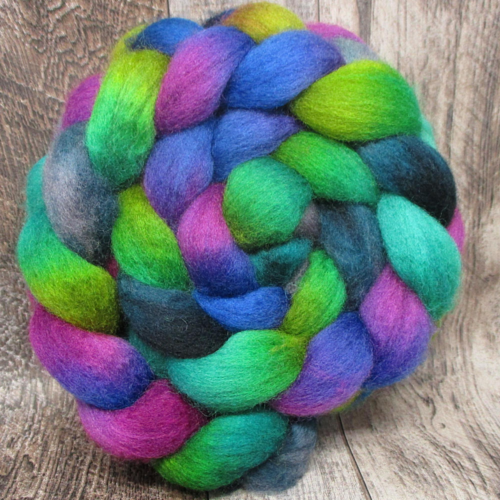 Mountain Twilight-- 100% BFL Wool 4oz