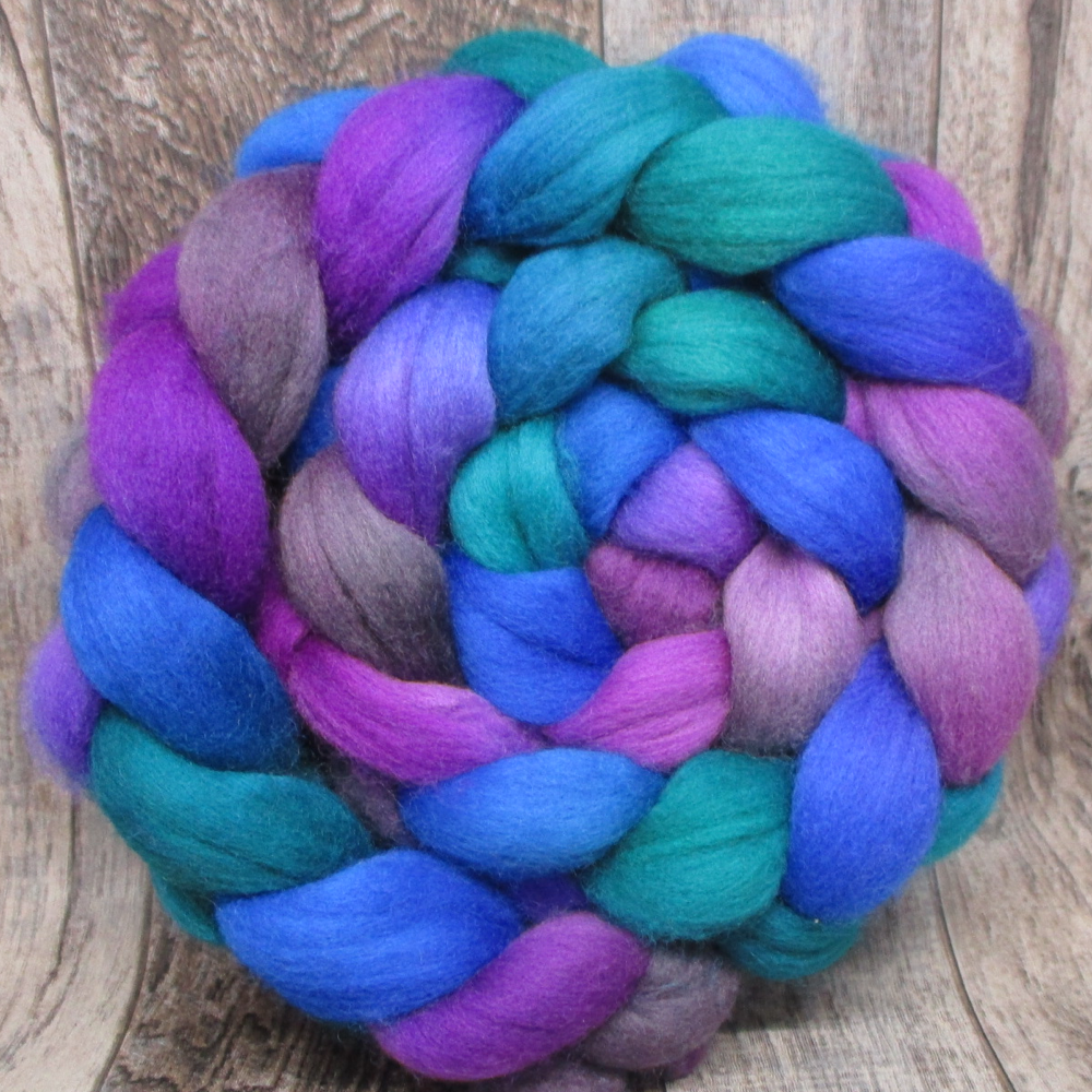 Sea Anemone -- 100% Polwarth Wool