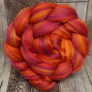 Sunset, Custom Blended Combed Top, 4oz