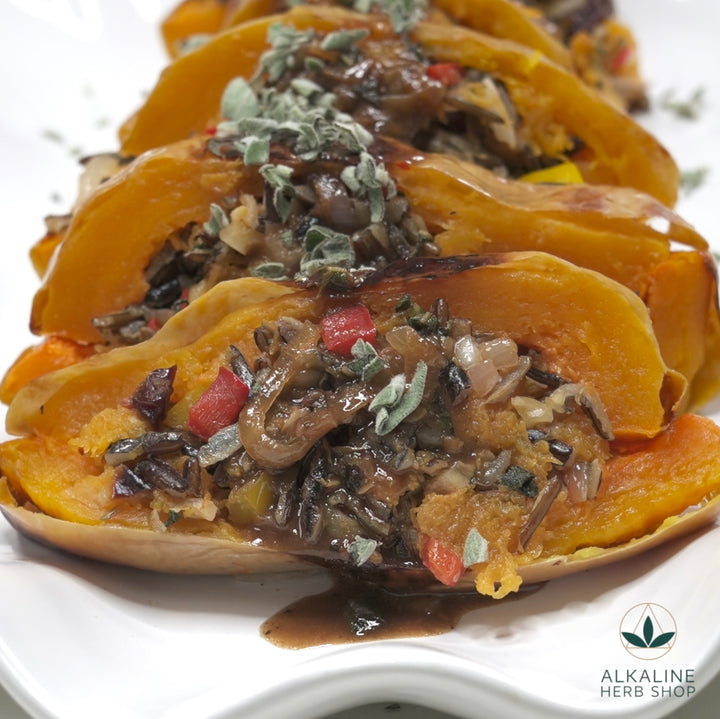 Holiday Stuffed Butternut Squash