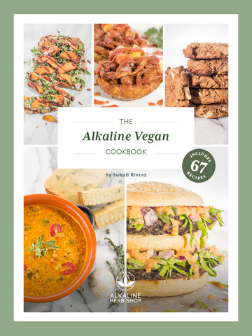 The Alkaline Vegan Cookbook (E- Book)
