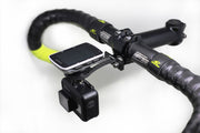 Carbon Mount with Garmin and GoPro