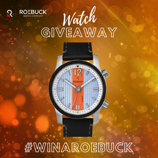 Announcing the First Ever #WinARoebuck Giveaway!