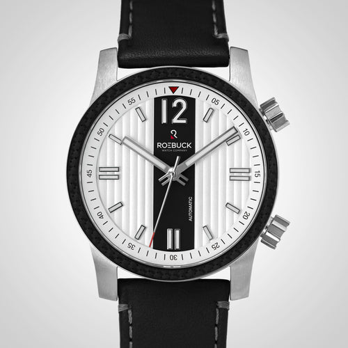 Dual Time black and white