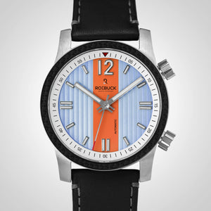 Dual Time orange and blue