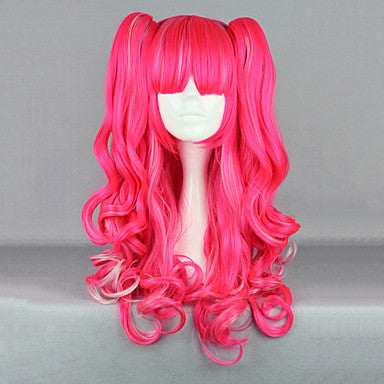 Hot Pink Lolita Cosplay Wig