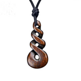 New Zealand Maori Handmade Carved Bone Necklace (4098289238070)