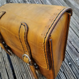 Handcrafted Vegetan Leather Motorcycle Side Bags (4050542460982)