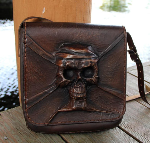 Handcrafted Leather Postman Shoulder Bag Biz Levanten  (1929811361846)