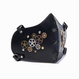 Steampunk Vegetan Leather Bikers Mask (1912376885302)