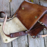 Handcrafted Leather Postman Shoulder Bag Biz Levanten  (1929812836406)