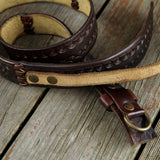 Handmade Vegetan Leather Belt Leather Belt Biz Levanten  (1929899966518)