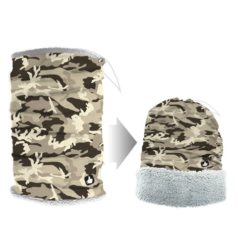 Kalahari Camo Plush Balance Extreme Weather Fit Tube Bandana Bandana Plush Balance Headwear  (738238922853)