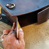 Handcrafted Vegetan Leather Motorcycle Side Bags (4443359084598)