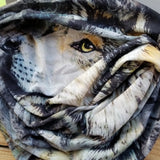 Neck Gaiter - Face Mask - Head Scarves - Headband - Wolf Pack - Black Bandana - Hair Scarf - Bandanna