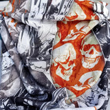Biker Wings Triangle Bandana - Protective Face Shield - High Quality Bandana - Colorful Neck Gaiter - Beautiful Scarf