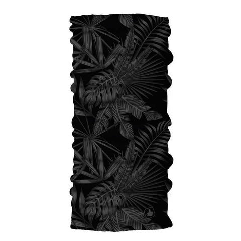 Tropic Black- Coolmax Seamless Tube Bandana
