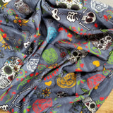 Ofrenda Coolmax Active Bandana - Bandana with Skull - High Quality Bandana - Neck Gaiter - Colorful Scarf