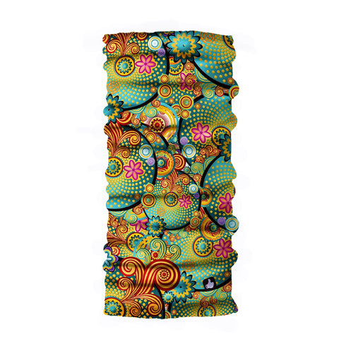 Neck Gaiter - Face Mask - Head Scarves - Headband - Gargath  - Colorful Bandana  - Hair Scarf - Bandanna