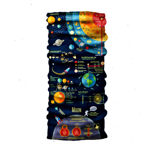 Big Bang Bandana Classic - Seamless Tube - Neck Gaiter - Face Mask - Scarf - Quality Bandana