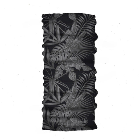 Tropic Black Classic Bandana - Black Bandana - Head Scarves - Hair Bandana - Neck Gaiter - Hair Scarf - Bandanna