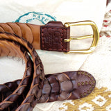 Rica 100% Handcrafted Leather Belt