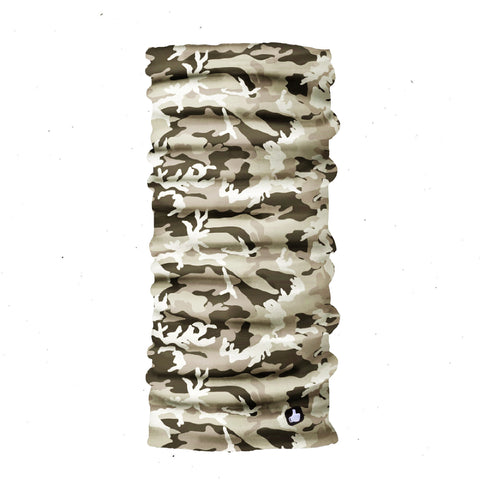 Neck Gaiter - Face Mask - Head Scarves - Headband - Kalahari Camo - Camo Bandana - Hair Scarf