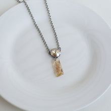 ARIA SWAROVSKI DRUZY SHORT NECKLACE
