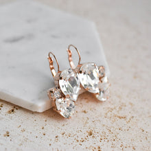 Load image into Gallery viewer, VOWS BRIDAL CHARMAINE EARRING ROSE GOLD