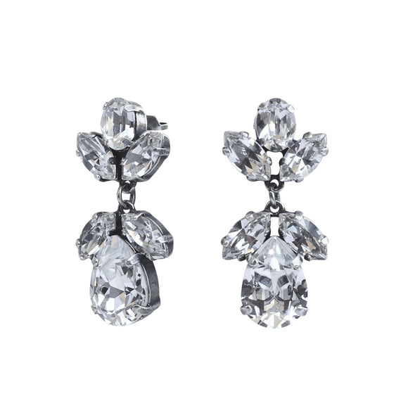 GISELLE PEARSHAPE TEARDROP POST EARRING