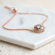 Load image into Gallery viewer, VOWS BRIDAL HADLEY BRACELET ROSE GOLD