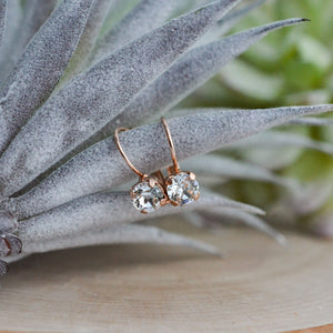 VOWS BRIDAL JUNE EARRING ROSE GOLD