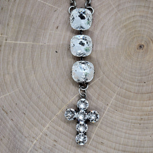 SAMARAH CROSS NECKLACE