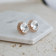 Load image into Gallery viewer, VOWS BRIDAL SERENA EARRING ROSE GOLD