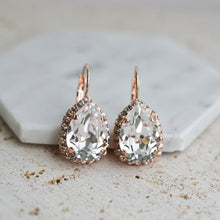 Load image into Gallery viewer, VOWS BRIDAL SOPHIA EARRING ROSE GOLD