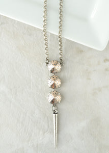 KAREN SPIKE NECKLACE