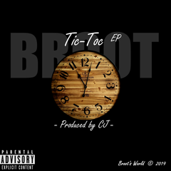 Tic-toc EP album cover (by Broot).