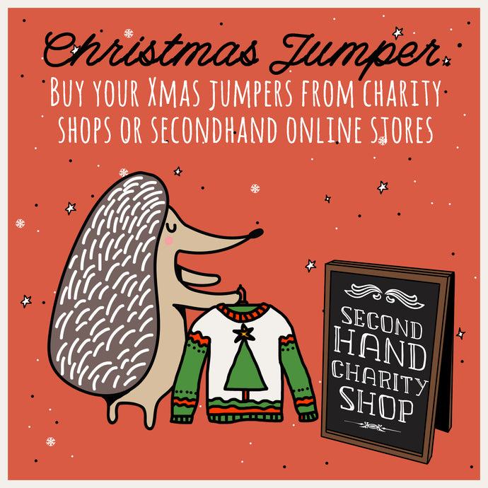"Mindful Mintie Says ""Buy your Christmas Jumper from a 2nd Hand Store"""