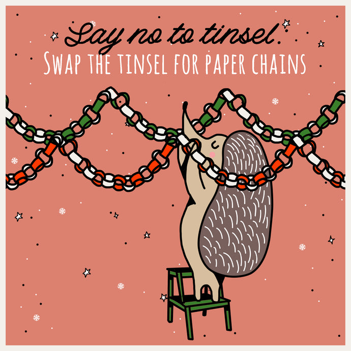 Mindful Mintie Says 'Swap the Tinsel for Paper Chains'
