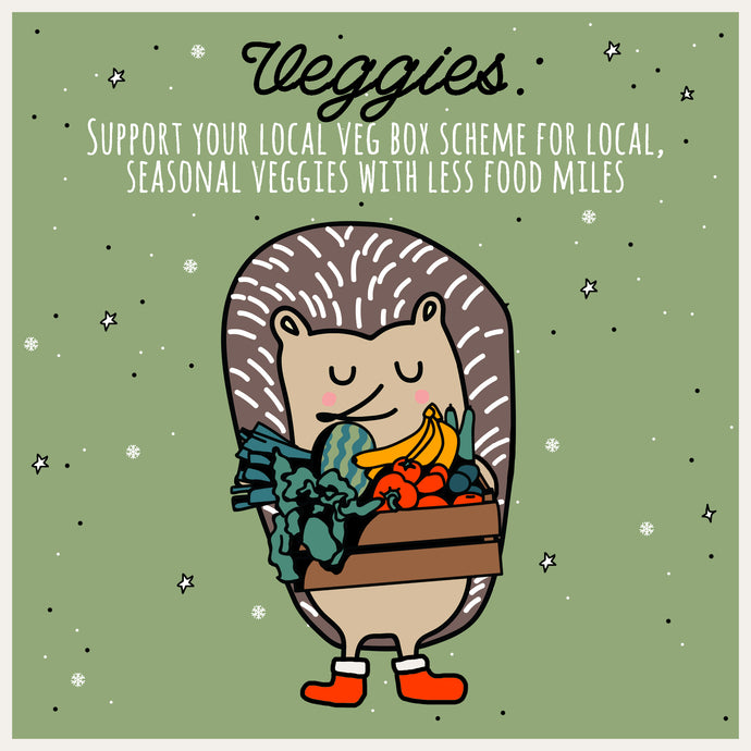 "Mindful Mintie says ""Support your Local Veg Box Scheme"""