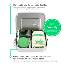 Load image into Gallery viewer, Mintie Snug Stainless Steel Lunch Box Set - environmental life