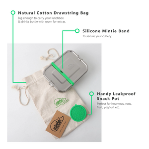 Mintie Snug Stainless Steel Lunch Box Set - environmental life