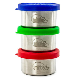 3 Mintie Mini Snack Pots