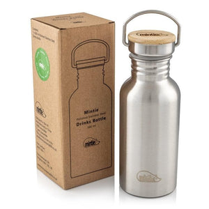 Mintie 500ml Stainless Steel Water Bottle - environmental life