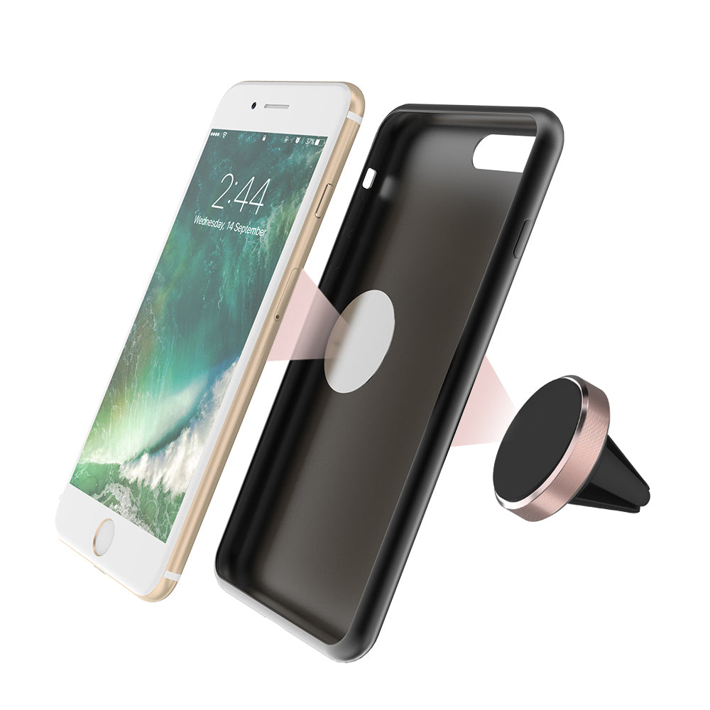 support magnetique pour iphone en voiture