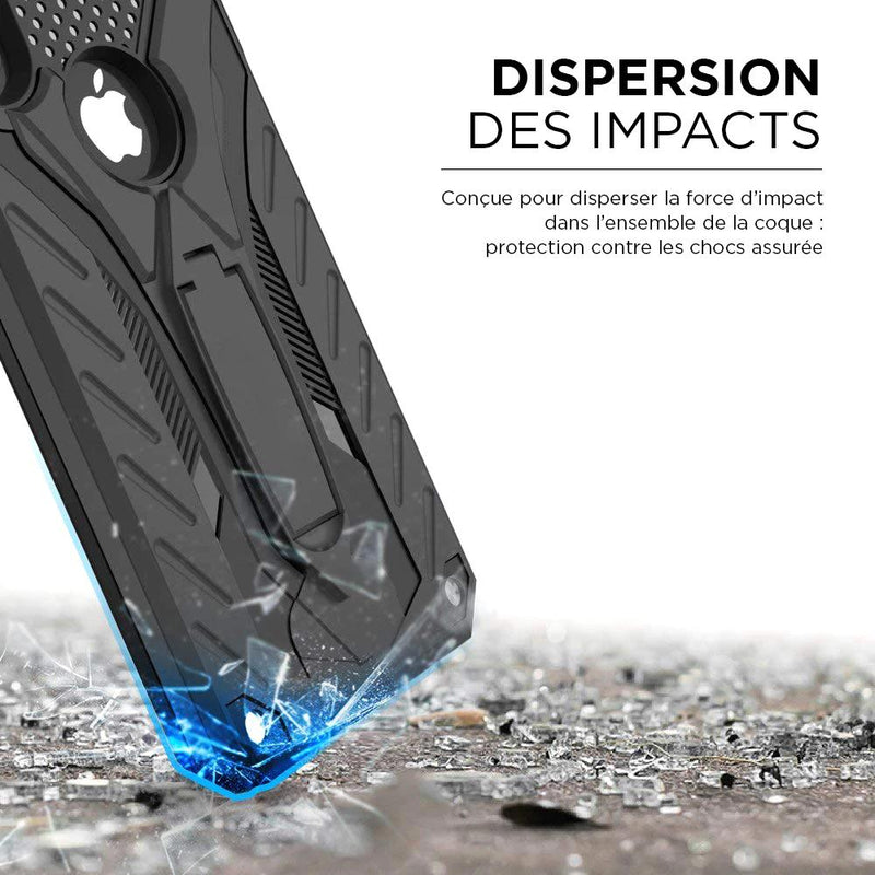 Coque iPhone blindée armure incassable