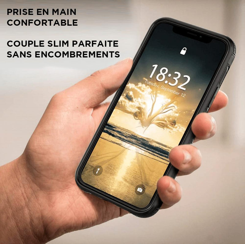 Coque iPhone armure slim