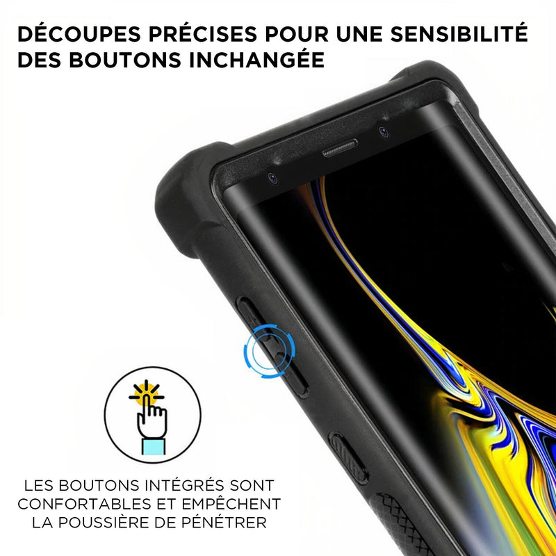 Samsung Galaxy S étui de protection robuste à 360° en deux parties