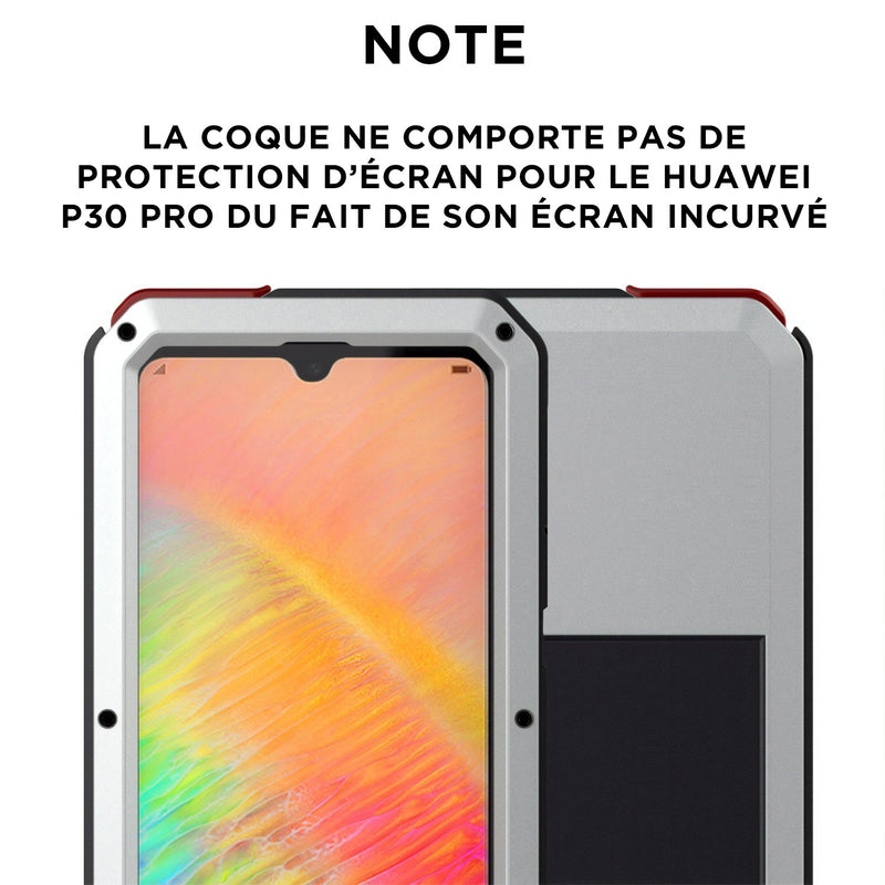 Coque Huawei P intégrale protection militaire