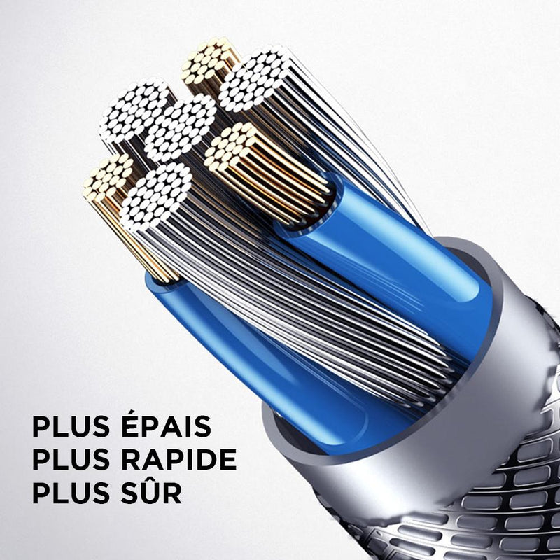 cable pour iphone chargeur